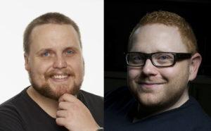To gode venner. Jan-Erik Fjell og «Staysman» @ Amalie Skram